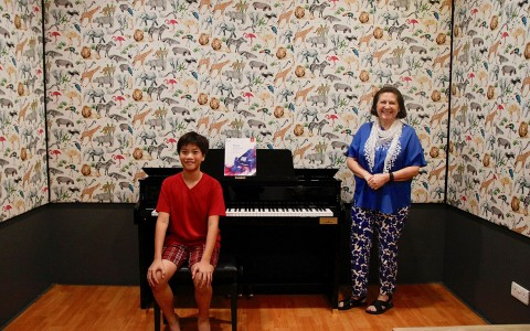 D-Flat Studios Together with CASIO Brings First ABRSM Digital Piano Examination to Singapore