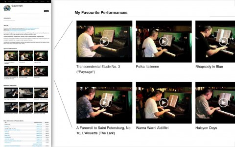 Feature Your Favourite Performances In Your Pianover Profile Now