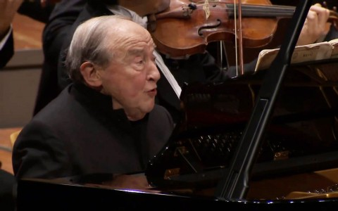 Menahem Pressler Gave His Solo Piano Concert At 90