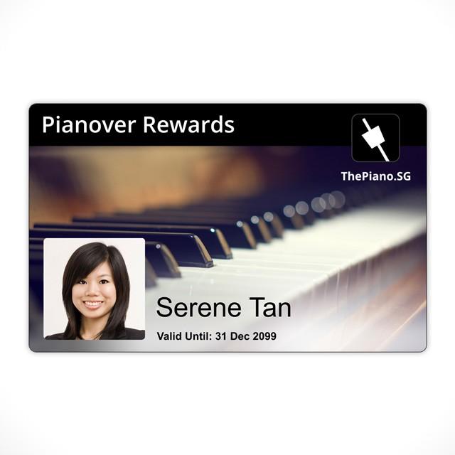 Pianovers Reward Card