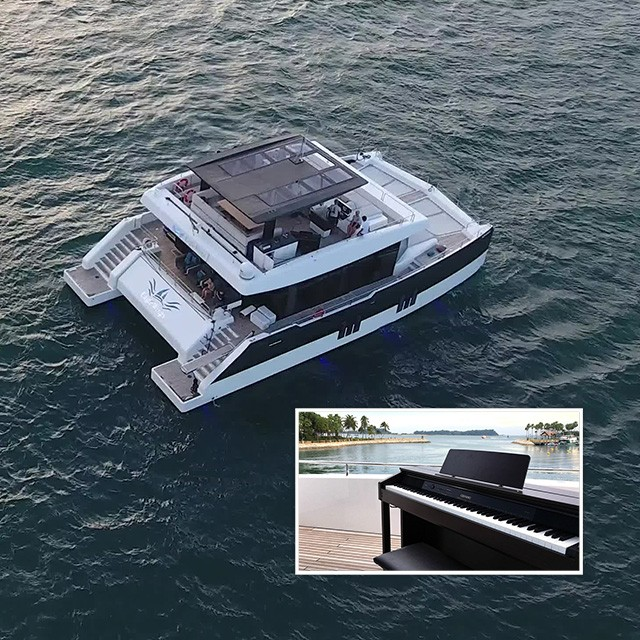 Book a Yacht With Pianos