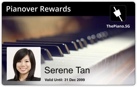 Pianovers, Pianovers Rewards