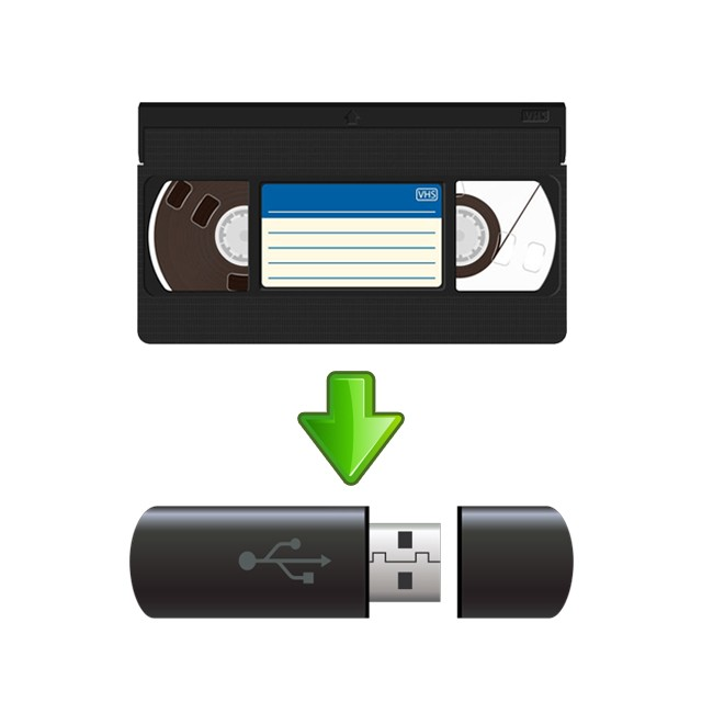 VHS to ThumbDrive