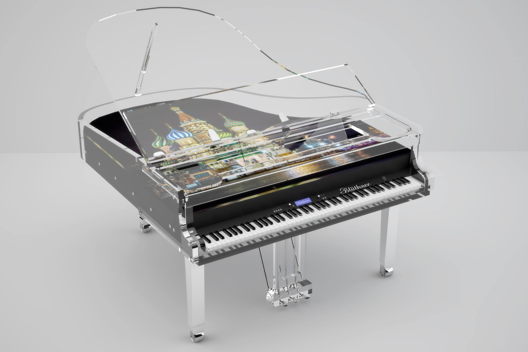 Transparent pianos are beautiful, elegant and functional   ThePiano.SG