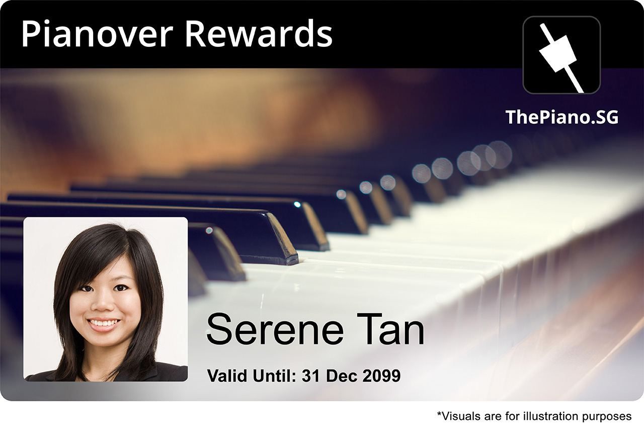 Pianover Rewards