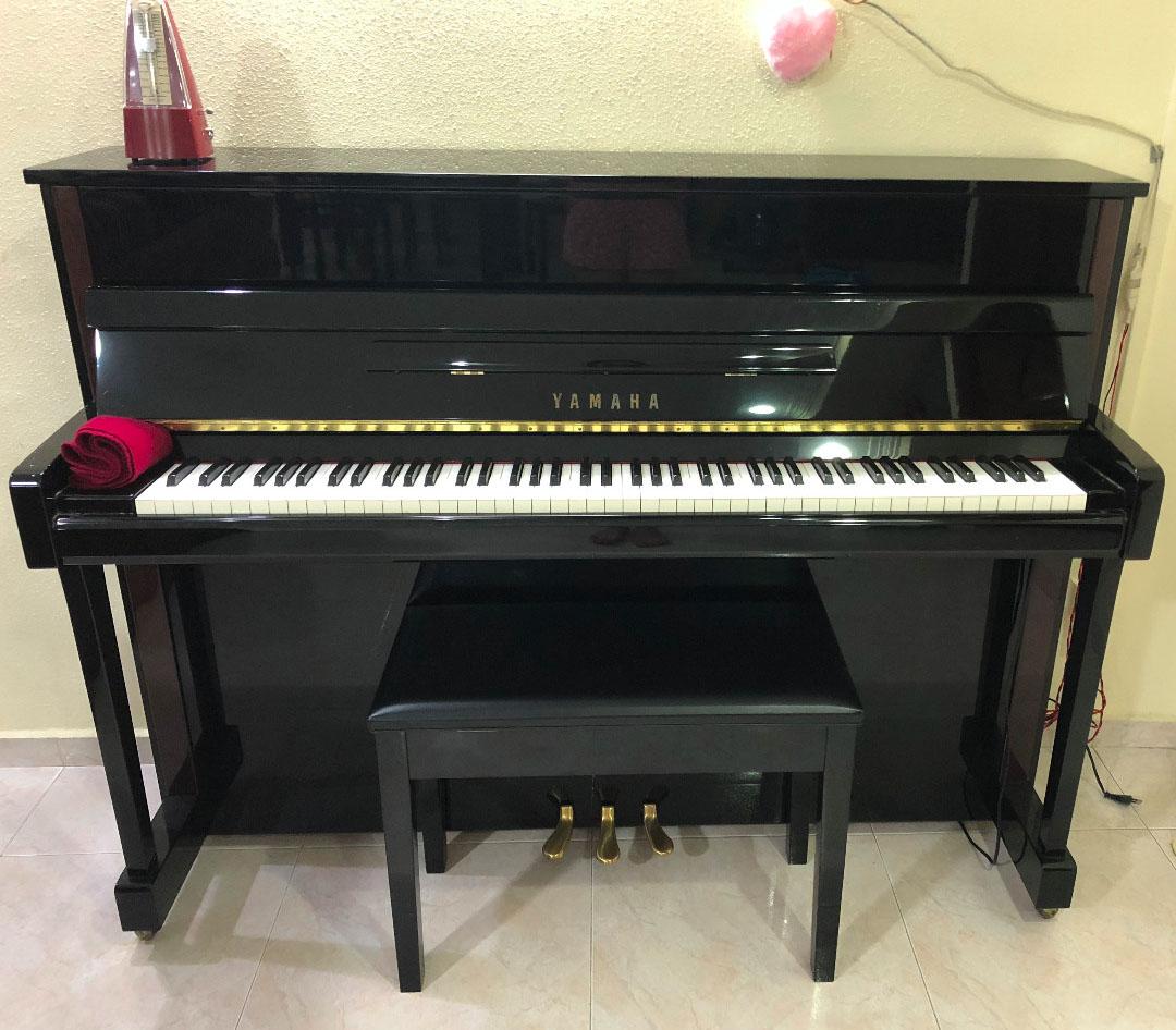 Yamaha upright piano thepiano sg for Yamaha upright piano cover