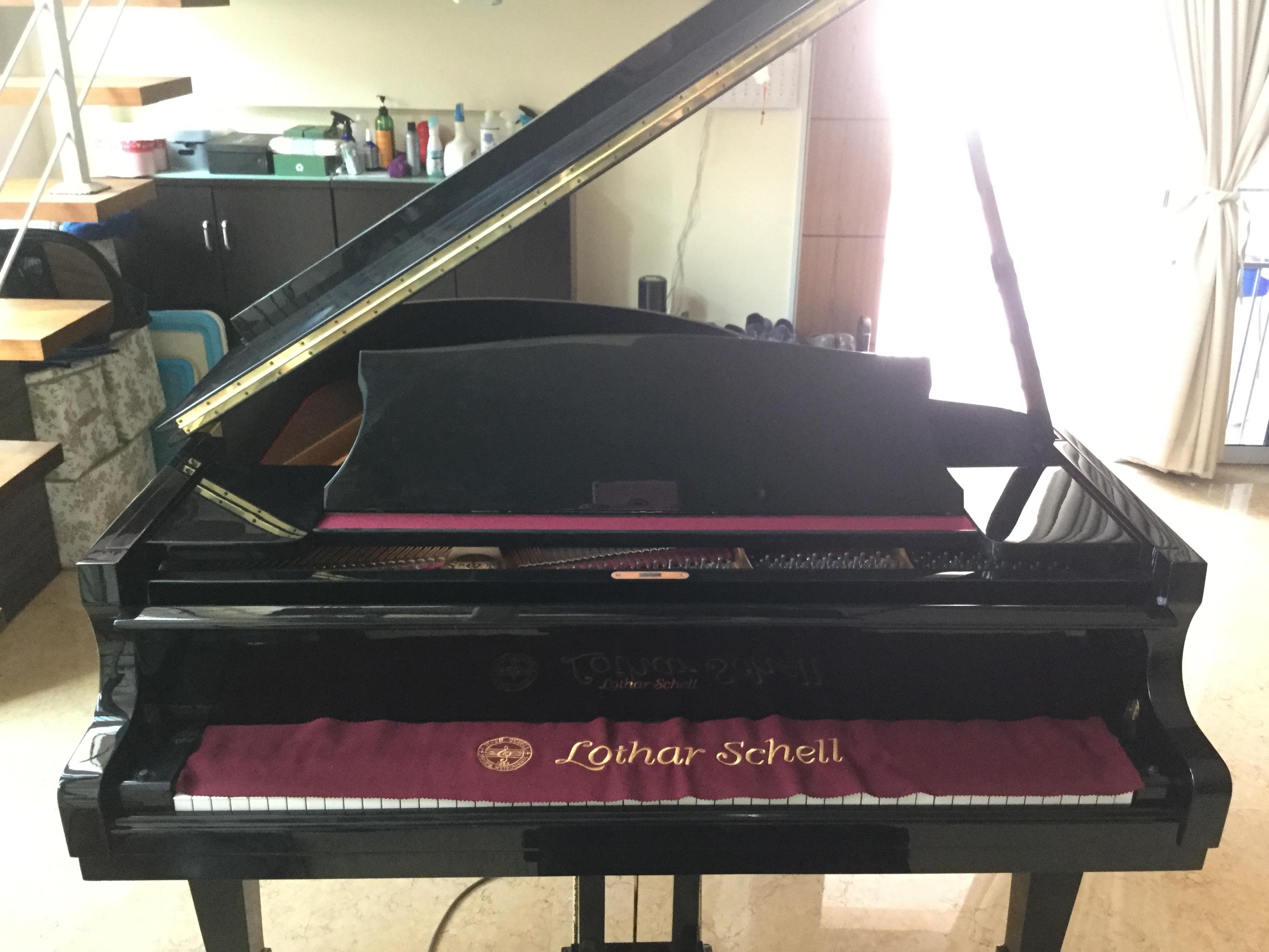 Lothar Schell Baby Grand Piano Used Piano Thepiano Sg